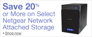 Save 20% Or More on Select Netgear Network Attached Storage