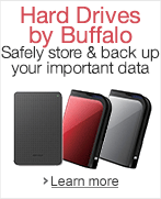 Hard Drives by Buffalo
