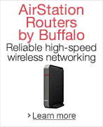 AirStation Routers by Buffalo - stay