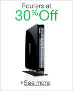 Routers at 30% Off