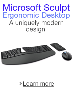Discover the Microsoft Sculpt Ergonomic Desktop