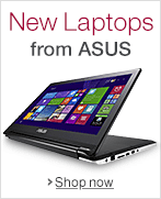 New ASUS Laptops