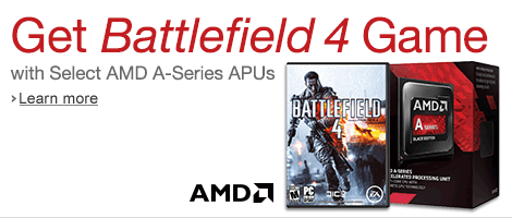 Free Battlefield 4 Game with Select AMD A-Series APUs