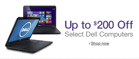 Up to $200 Off Select Dell PCs