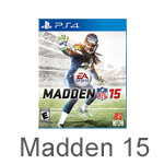 Madden 15 for PlayStation 4