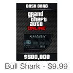 Grand Theft Auto Online Bull Shark Card