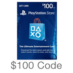 PlayStation Network $100 Code