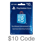 PlayStation Network $10 Code