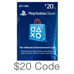 PlayStation Network $20 Code
