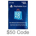 PlayStation Network $50 Code