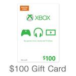 Xbox $100 Code