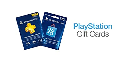 PlayStation Gift Cards and PlayStation Plus Subscriptions