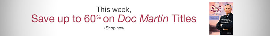 Up to 60% Off Doc Martin Titles