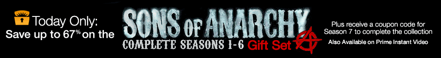 Deal of the Day: Sons of Anarchy: 1-6 Collection Plus Season 7 Offer