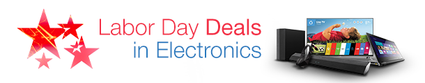 Labor Day Deals in Electronics