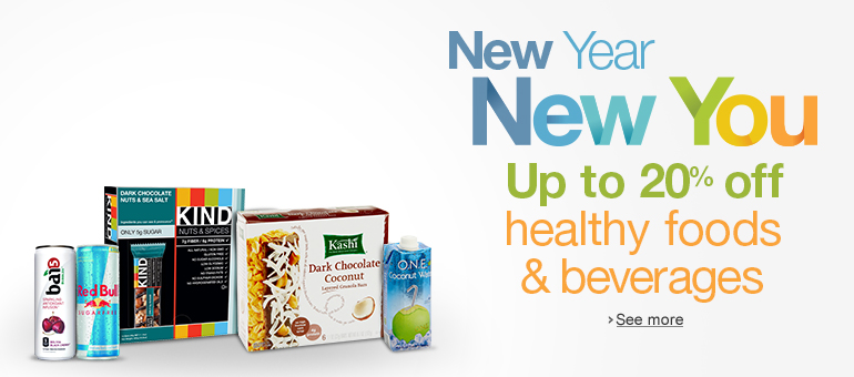 Up to 20% Off Healthy Foods & Beverages