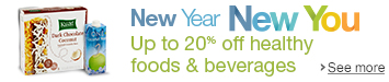 Save Up to 20% Off Healthy Foods & Beverages