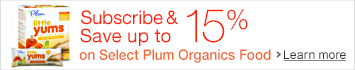 Save 20% on Select Plum Organics Baby, Tots & Kids Food with Instant Coupon