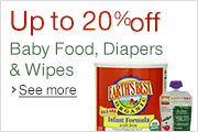 Up to 20% Off Baby Food