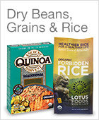 Dry Beans, Grains & Rice