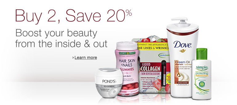 Buy 2, Save 20%: Boost your beauty from the inside & out