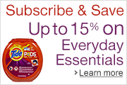 Subscribe & Save Up to 15% On Everyday Essentials