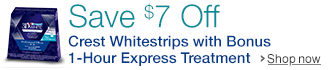 Save $7 On Crest Whitestrips