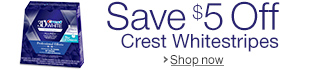 Save $5 On Crest Whitestrips