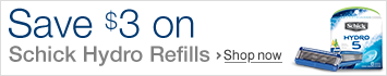 Save $3 on Schick Hydro Refills