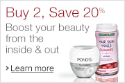 Buy 2, Get 20% Off: Boost your beauty inside & out