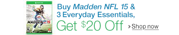 Buy Madden and Everyday Essentials, Save $20