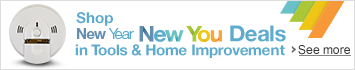 Shop New Year New You Deals in Tools & Home Improvement