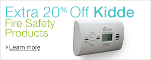 Extra 20% Off Kidde Fire-Safety Products