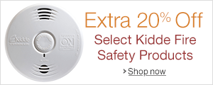 20% Off Select Kidde Fire Safety Products