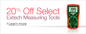 20% Off Select Extech Measuring Tools