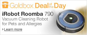 iRobot Roomba 790 Deal of the Day. Monday September 1st only.