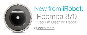 New from iRobot: Roomba 870 Vacuum Cleaning Robot