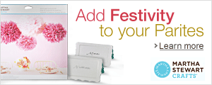 Add Festivity to Your Parties with Martha Stewart Crafts