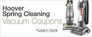 Hoover Spring Cleaning Vacuum Coupons