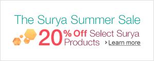 Surya 20% Off Summer Sale