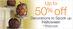 Up to 50% off Items to Spook up Halloween by Martha Stewart Crafts