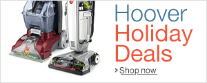 Save up to 15% on Hoover this Holiday