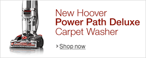 New Hoover Power Path Deluxe Carpet Washer