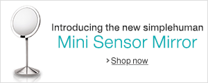 New simplehuman Mini Sensor Mirror