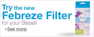 Try the new Febreze Filter for your Bissell