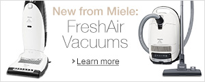 New from Miele: FreshAir Vacuums