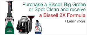 Bissell Deep Clean Gift with Purchase