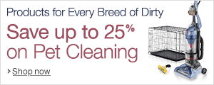 Products for Every Breed of Dirty: Save up to 25% on Pet Cleaning