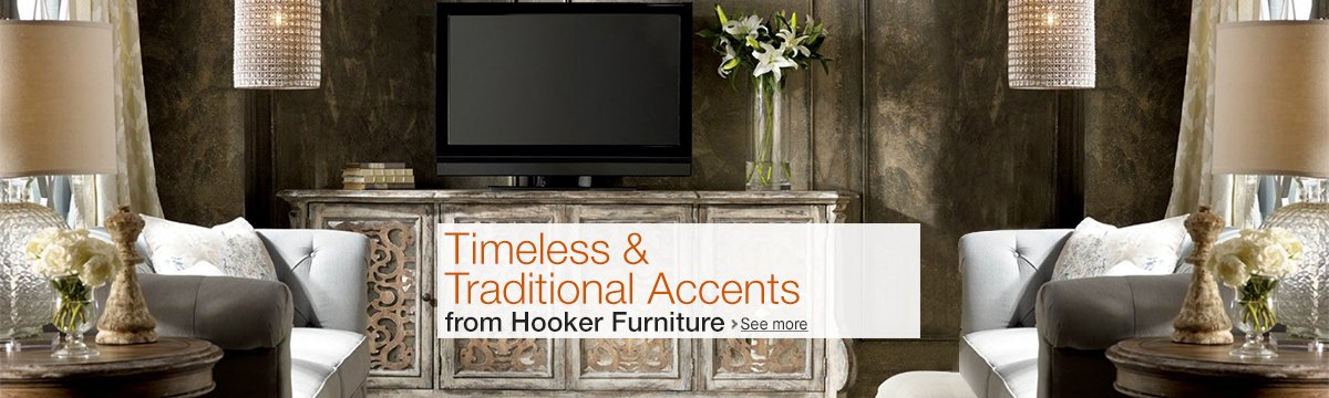 Timeless and Traditional Accents from Hooker Furniture
