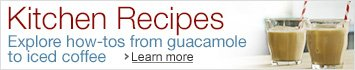 Explore how-to's from guacamole to iced tea
